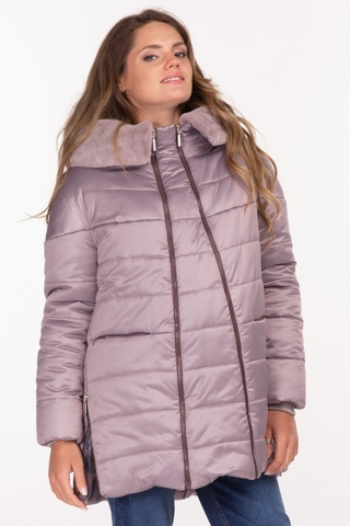 Куртка 2 в 1 для беременных  11187 сиреневый