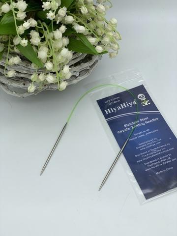 Hiya-Hiya Stainless Circular Спицы круговые 3,0 мм 40 см