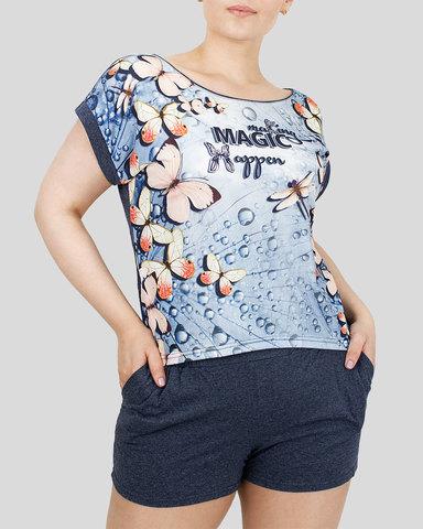 Margo Комплект женский футболка+шорты
