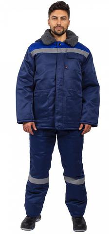 Куртка Бригада син+вас,с капюш, СОП, Грета