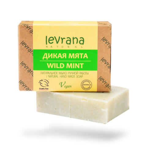 Levrana Натуральное мыло ручной работы Мята, 100гр