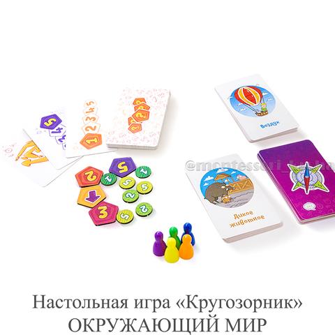Настольная игра «Кругозорник» ОКРУЖАЮЩИЙ МИР