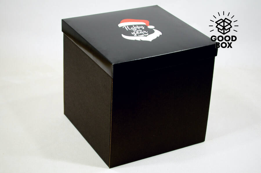 Крутые новогодние коробки купить в Алматы