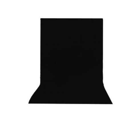 Черный нетканный фон 3х6 м NiceFoto NWB-36