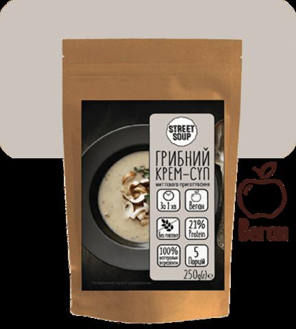 Грибной крем-суп, 250 гр.