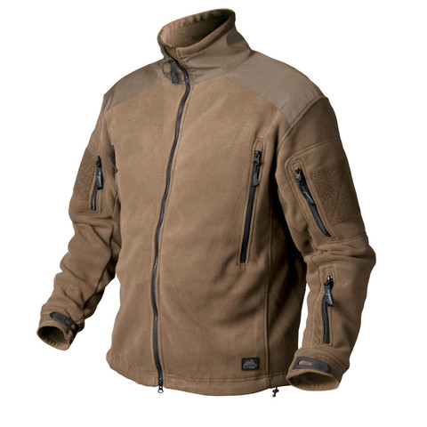 Куртка флис Helikon LIBERTY Jacket - Double Fleece - Coyote