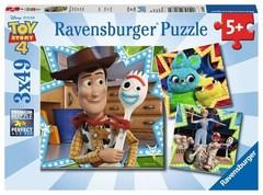 Puzzle DTS: Disney Toy Story 4  3x49 pcs