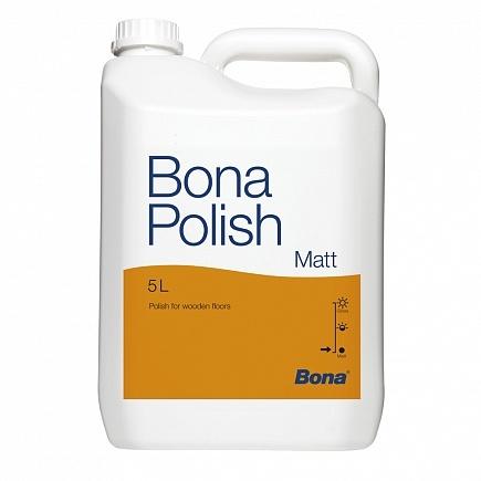 Бона Полиш (Bona Polish) - средство для текущего ухода за лакированными полами