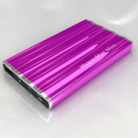HyperMac Mini 7200mAh – внешняя батарея для iPhone/iPod (Purple)