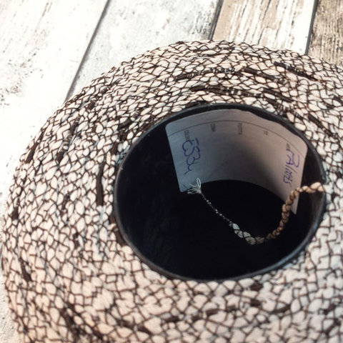 Вискоза ленточная  CASA DEL FILATO / PALMAS 240 темно-коричневый