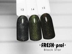 Гель лак Fresh Prof Black Star 10мл №12