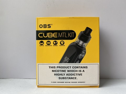 Набор Cube mod 80W 3000mah + Engine MTL RTA by OBS