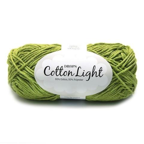 Пряжа Drops Cotton Light 11 зеленый