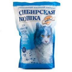 """Наполнитель для кошачьего туалета Сибирская кошка """"Элита"""" 4л"""