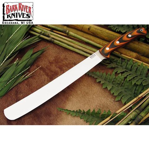 Нож Bark River Golok модель Tigerstripe G-10