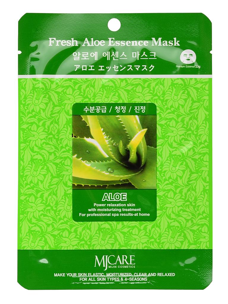 Увлажняющие Маска тканевая для лица алоэ Fresh Aloe Essence Mask МЖ6.jpg