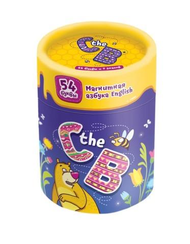 C the B  (магнитная азбука на английском языке)