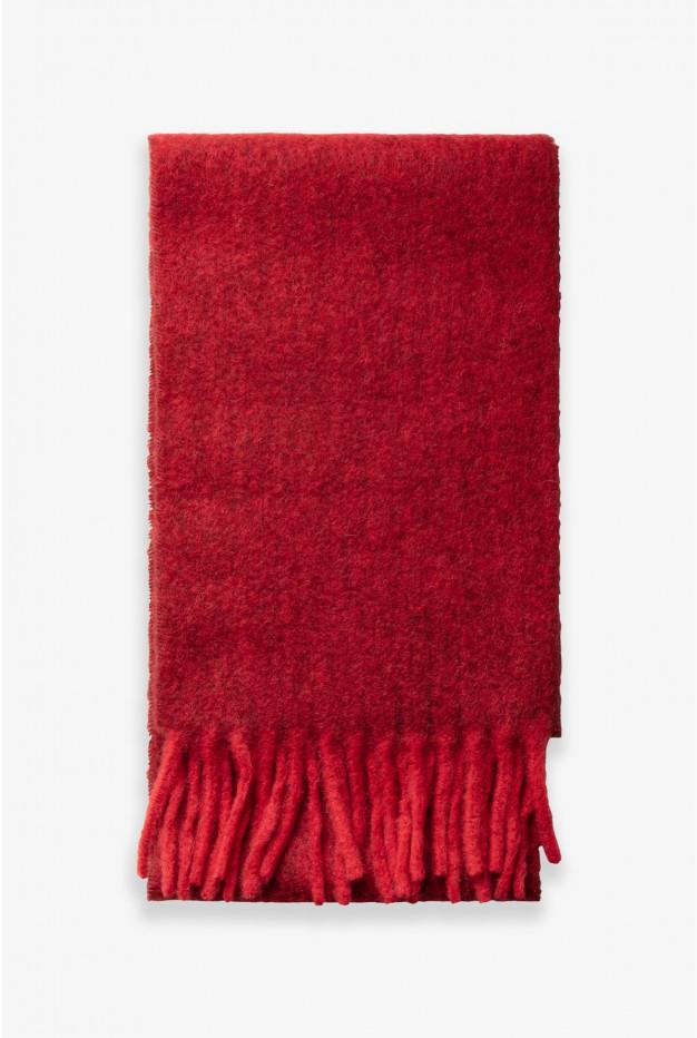 NORMA - Длинный шарф из смешанной шерсти альпака
