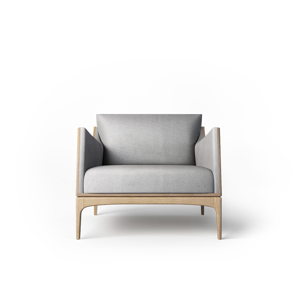 Кресло Tynd дуб - вид 2