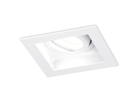 Встраиваемый поворотный точечный светильник TN180 WH Белый GU5.3 100*100*40