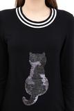 Джемпер для беременных 09086 черный