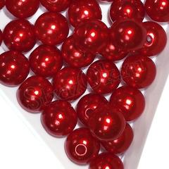 Купить оптом бусины Siam красные в инетрнет-магазине
