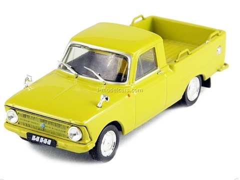 IZH-27151 dark yellow 1:43 DeAgostini Auto Legends USSR #103