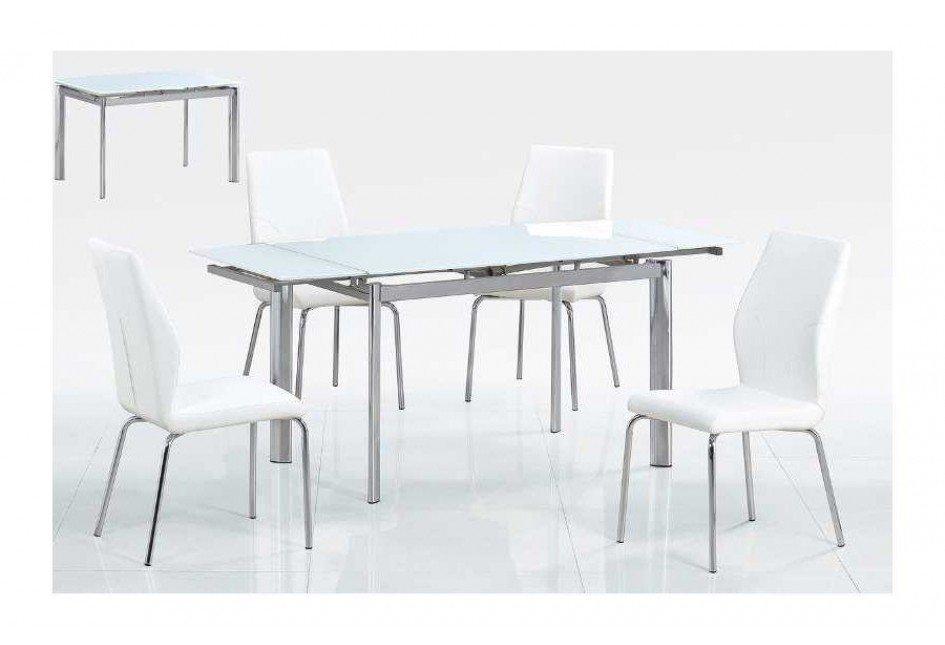 Стол обеденный AVANTI LOGAN (120) SUPER WHITE (белый)