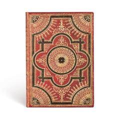Baroque Ventaglio / Ventaglio Rosso Kraft / Midi / Lined /