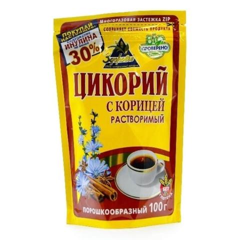Напиток цикорий ЗДОРОВЬЕ Корица 100 г ДП РОССИЯ