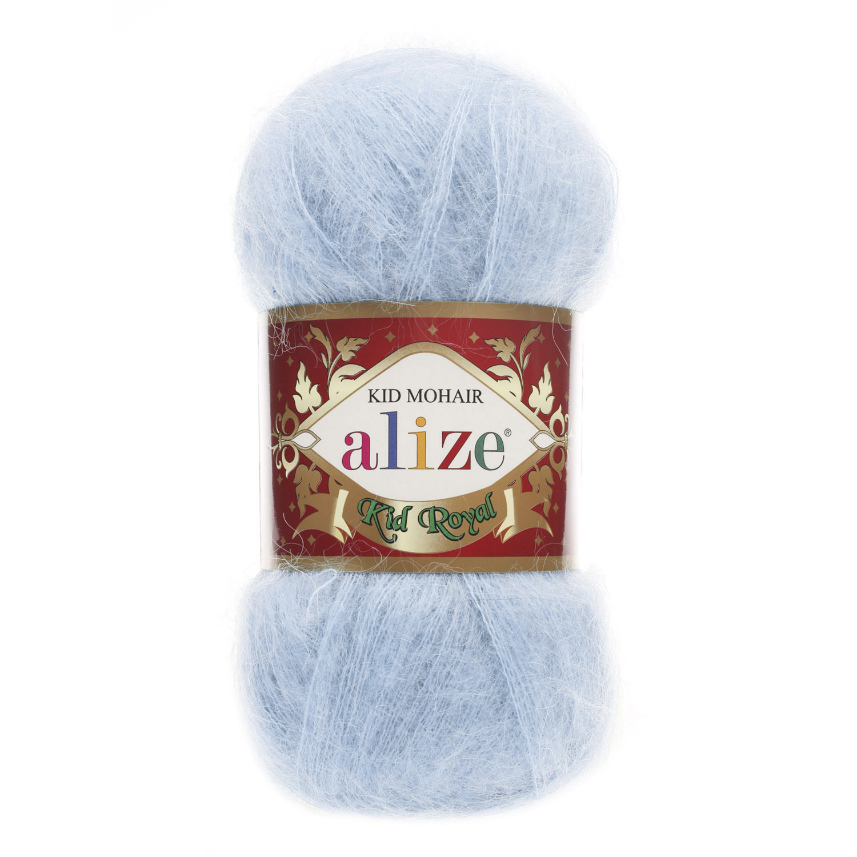 Пряжа Alize Kid royal нежно-голубой 183