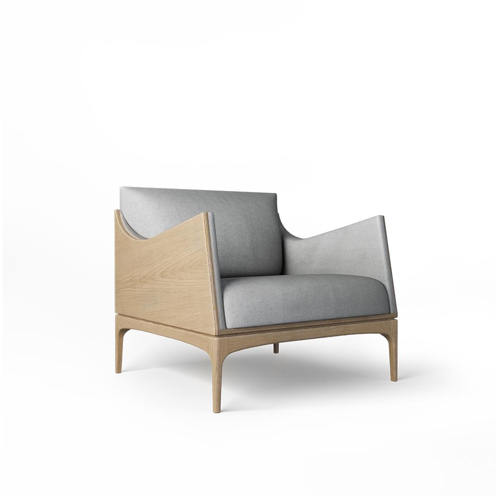Кресло Tynd дуб - вид 1