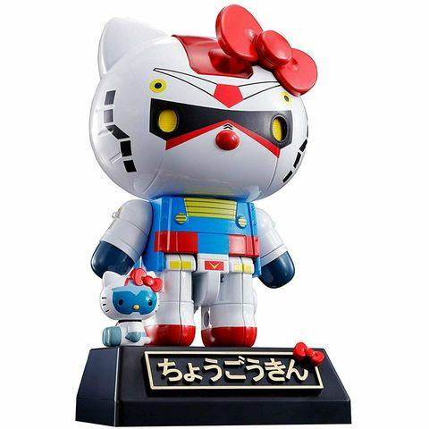 Фигурка Gundam x Hello Kitty BANDAI CHOGOKIN Mobile Suit