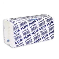 Полотенца бумажные листовые Aster Pro С-сложения 2-слойные 153 листа (артикул производителя 131281)