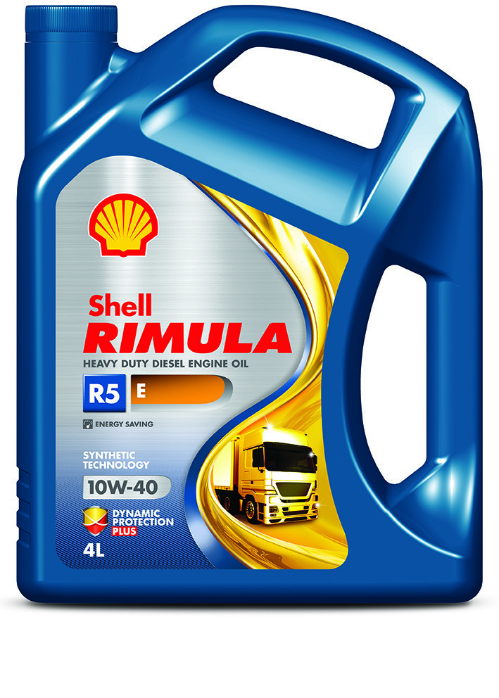 Shell Rimula R5 E 10W40 Полусинтетическое моторное масло