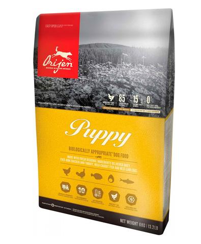 Orijen Puppy 85/15 корм беззерновой для щенков всех пород Цыпленок 2 кг