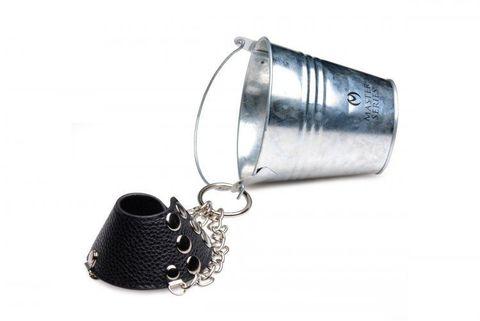 Утяжка на мошонку с ведром для груза Hells Bucket Ball Stretcher