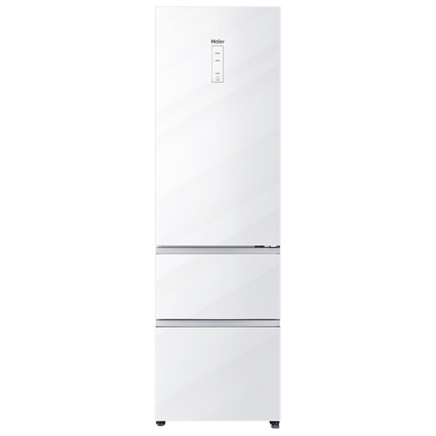 Холодильник HAIER A2F637CGWG (2.0 m, белое стекло)