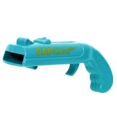 Открывалка для бутылок «Пистолет» синий, фото 2