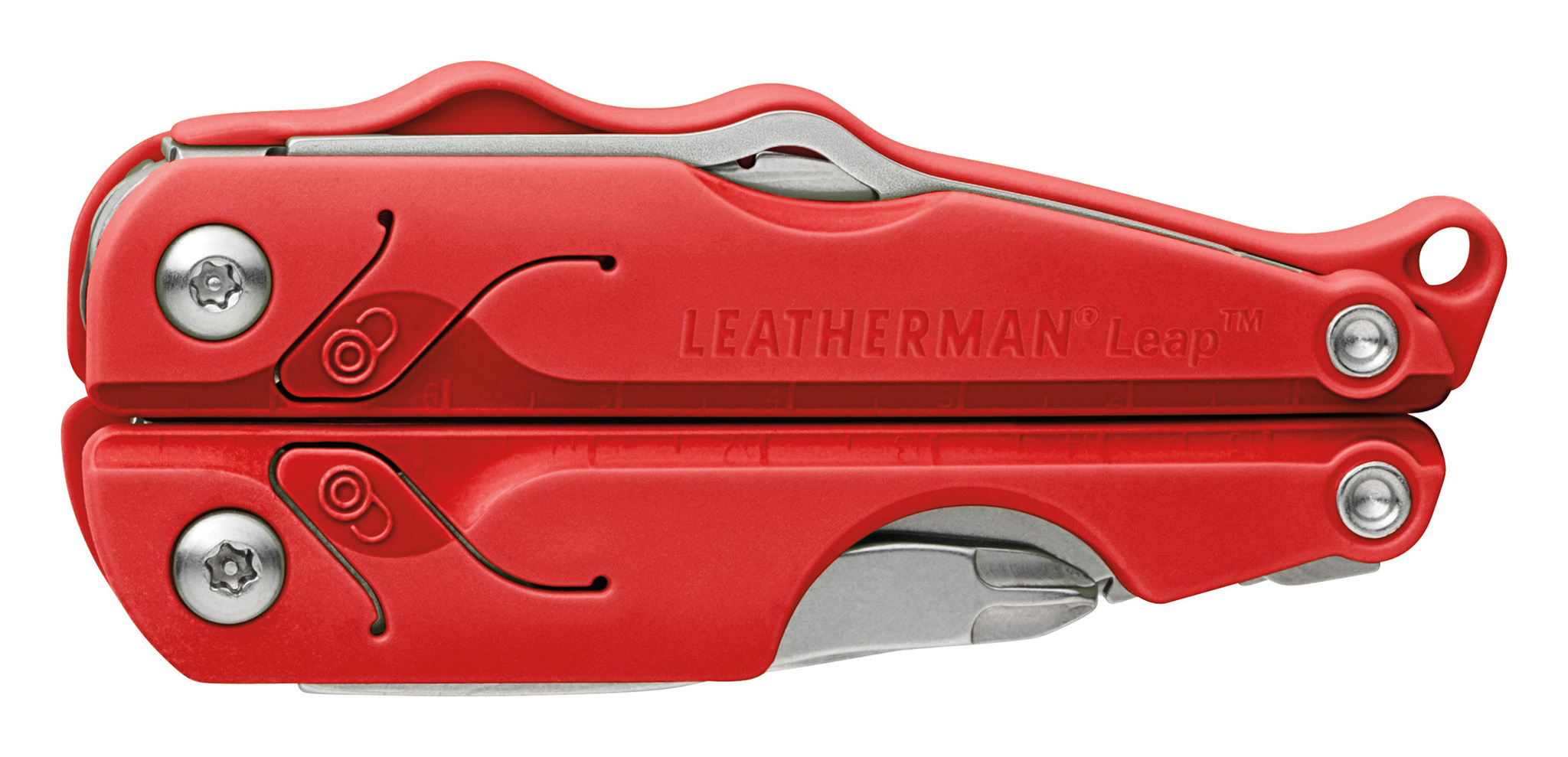 Мультитул Leatherman Leap, 12 функций, красный