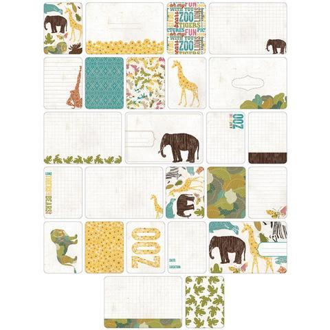 Набор карточек Project Life - Animal 40 шт