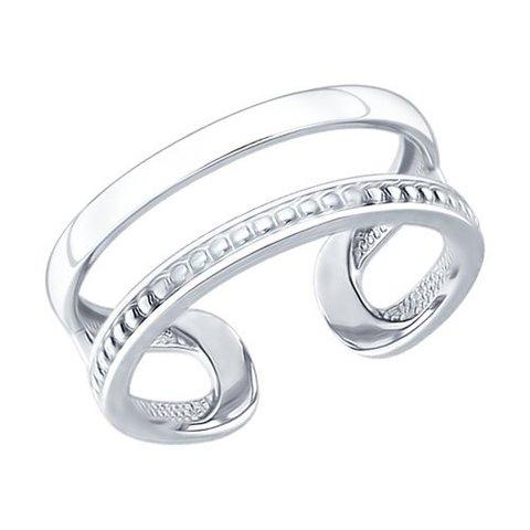 94012166 - Серебряное кольцо на фалангу