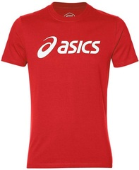 Футболка беговая Asics Big Logo Tee Red мужская