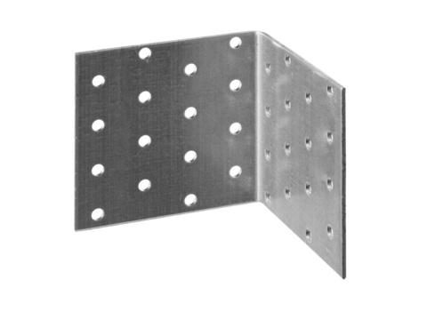 Уголок крепежный равносторонний УКР-2.0, 60х80х80 х 2мм, ЗУБР