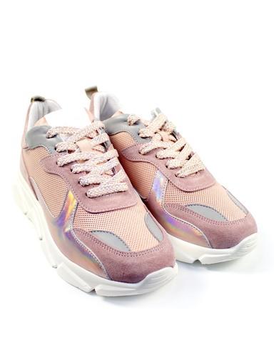 розовые кроссовки Alpino