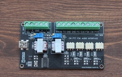 CW FSK PTT AUDIO interface for any transceiver