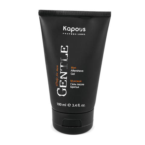 Мужской гель после бритья с охлаждающим эффектом Gentle Kapous Professional 100 мл