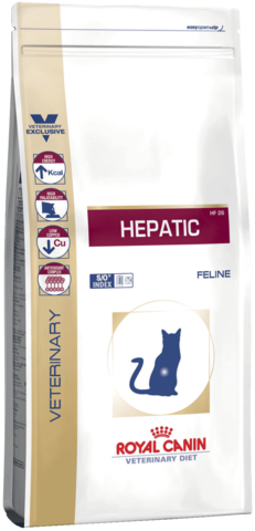 Royal Canin Hepatic HF26 для кошек при заболеваниях печени