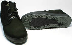 Ботинки на толстой подошве мужские зимние Ikoc 1617-1 WBN.