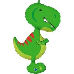 Г Фигура, Динозавр Тираннозавр, Зеленый, 38
